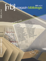 Magazin bibliologic 2005 3-4